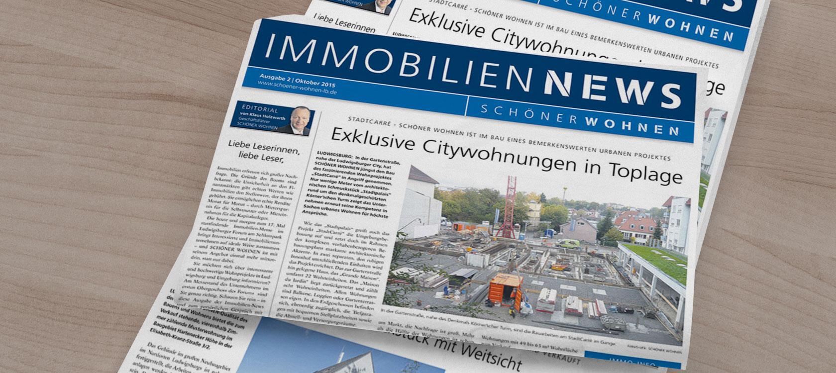 Presse Schöner Wohnen Immobilien Ludwigsburg