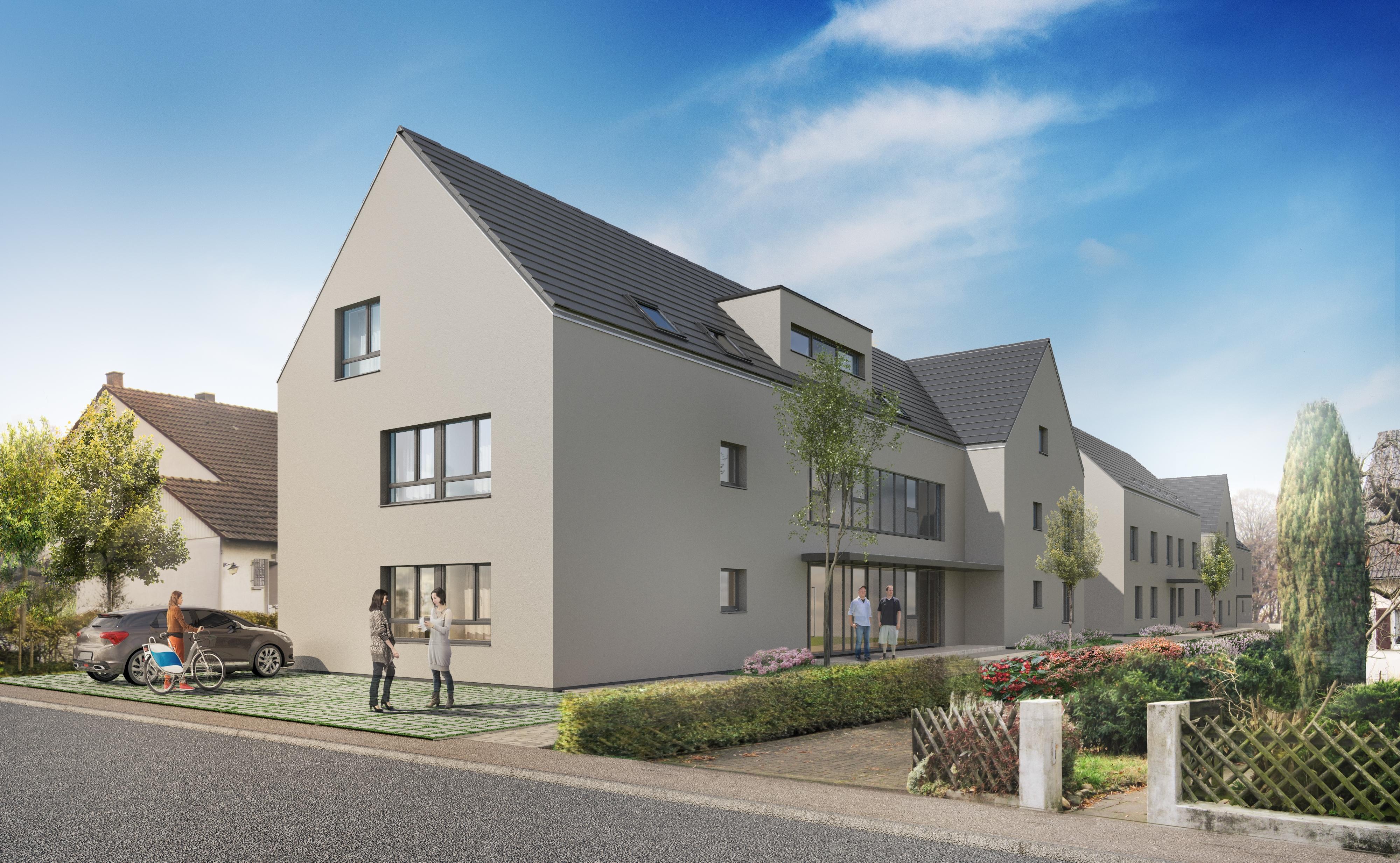 sachsenheim 8 eigentumswohnungen im 1 bauabschnitt sch ner wohnen immobilien ludwigsburg. Black Bedroom Furniture Sets. Home Design Ideas