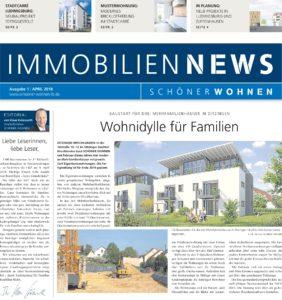 Schöner Wohnen Immobiliennews - Ausgabe April 2018
