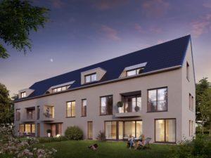 Haus 3, Sachsenheim, ruhige Lage, Jahnstraße, KFW55, Neubauwohnung, Eigentumswohnung zum Kauf
