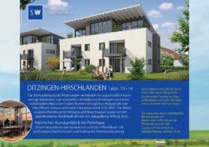 Modernes Wohnen - Eigentumswohnungen - Hirschlanden