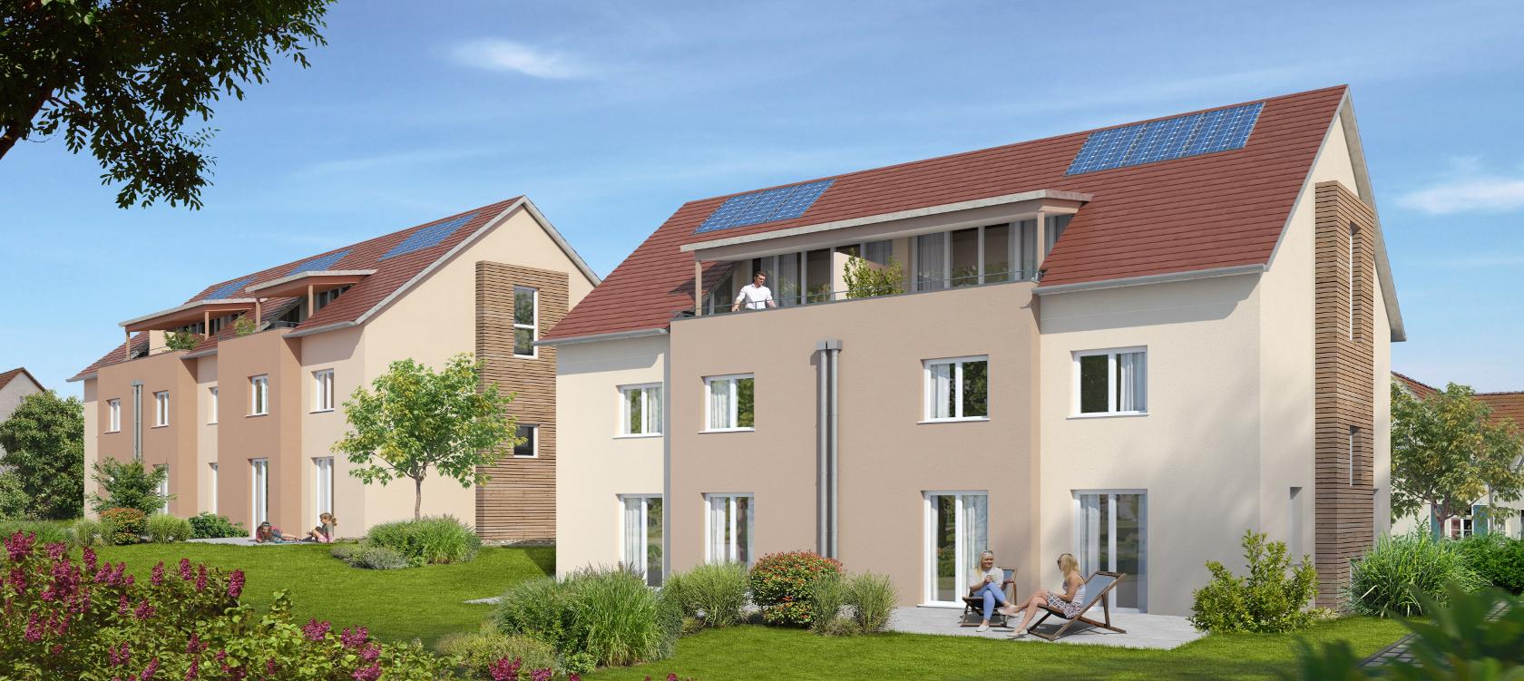 Schöner Wohnen Tamm Ortskern Reihenhaus Doppelhaus