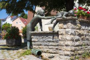 Brunnenanlage in Freiberg - Bietigheimer Straße - Schöner Wohnen