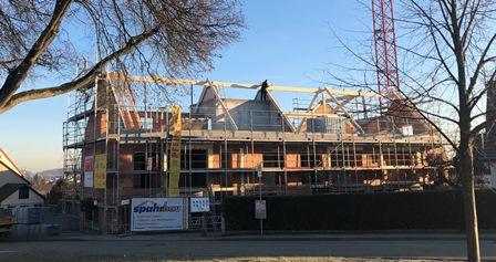 Schöner Wohnen Sachsenheim - Eigentumswohnungen - Beginn Dacharbeiten